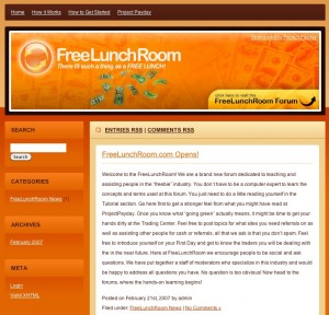 The Free Lunch Room