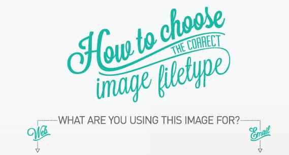 choose image filetype