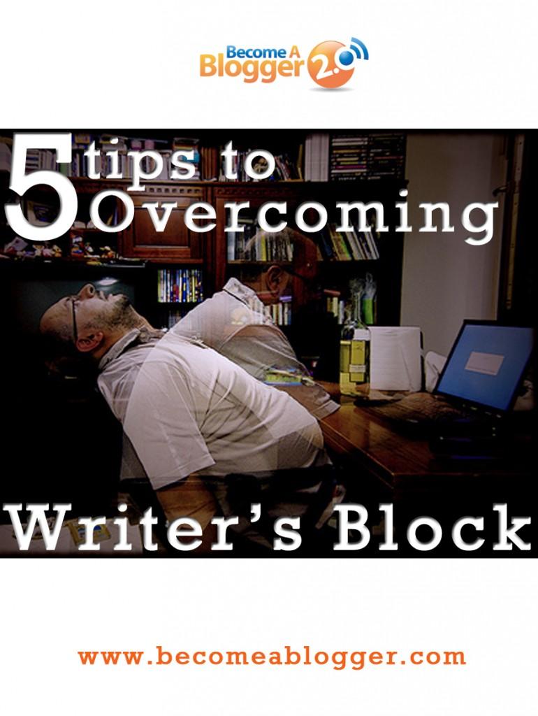 6_5 Tips to Overcoming Writer's Block
