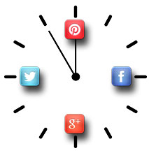 How much time do you need to spend on social media