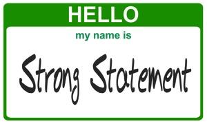 StrongStatement