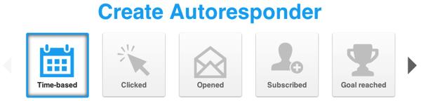 Create Autoresponder