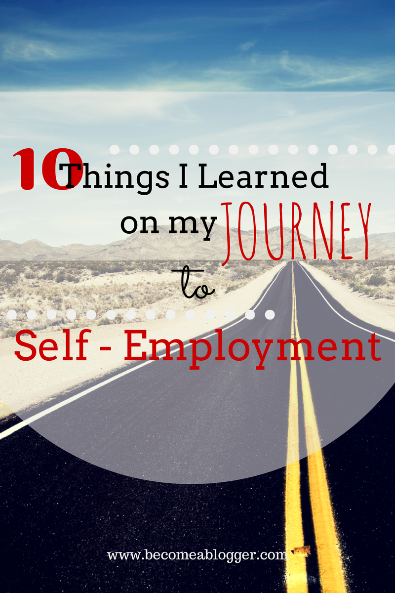 how to get a job after self employment