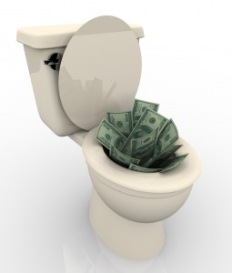 MoneyDownToilet