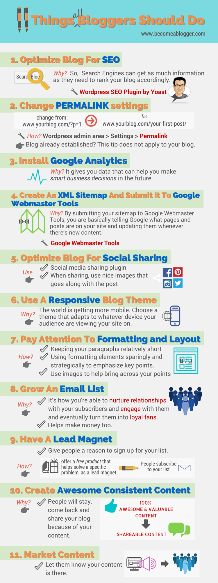 210 eleven things all bloggers should do become a blogger