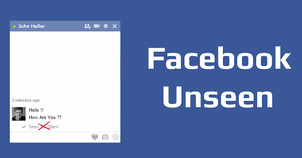 how to know the number of messages in facebook