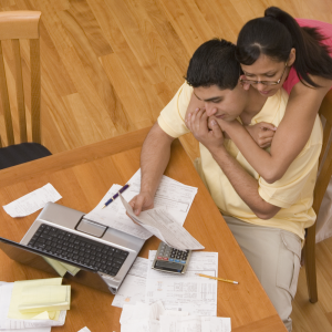 Spouses-paying-bills