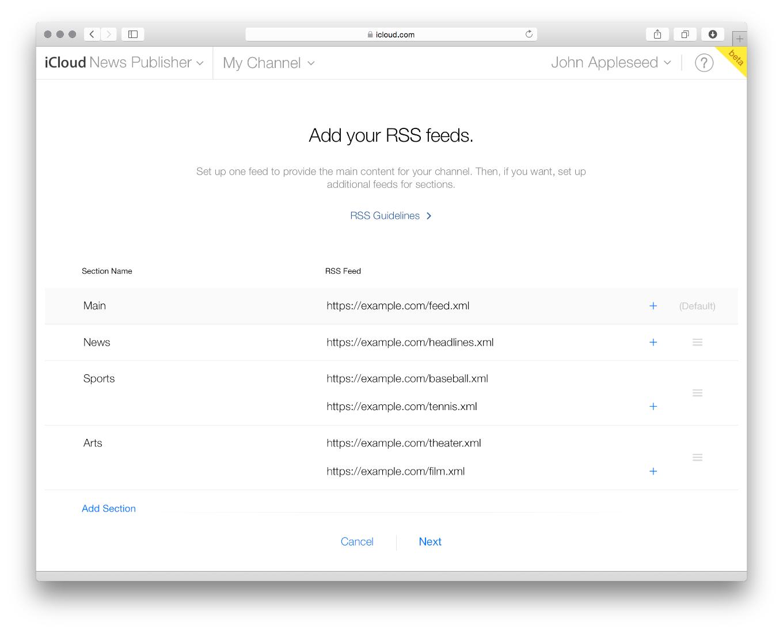 Apple News_feeds