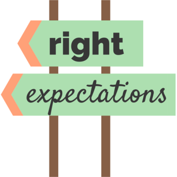right expectation