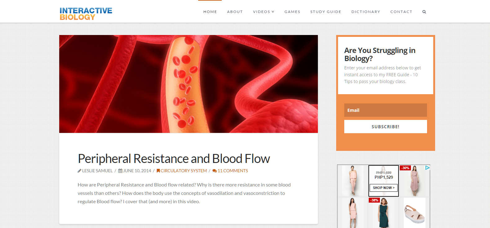 Interactive Biology Blog