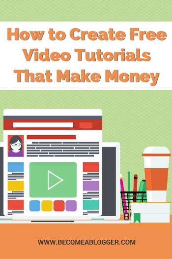 How to Create Video Tutorials That Make Money