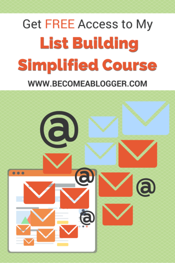 List Building Simplified Course
