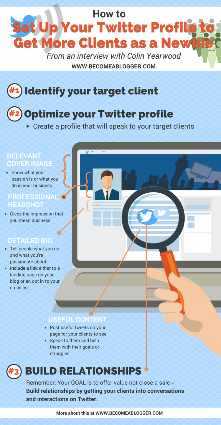 How to Set Up Your Twitter Profile to Get New Clients as a Newbie