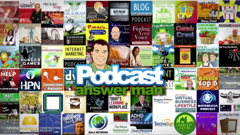 Cliff has helped tons of podcasters build their own podcasts.