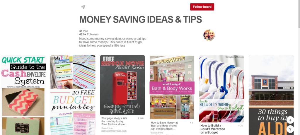 Seed Time - Money Saving Board on Pinterest