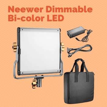 Neewer Dimmable Bi-color LED