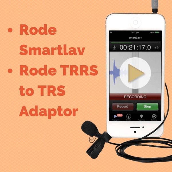 Rode TRRS to TRS Adaptor
