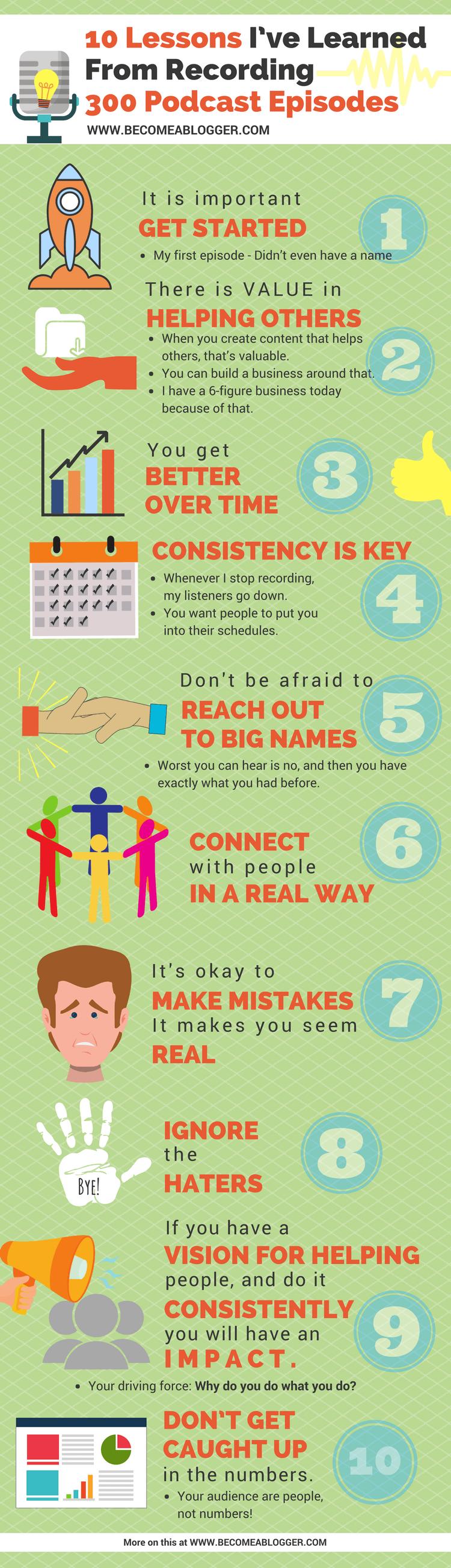 10 Lessons I've Learned