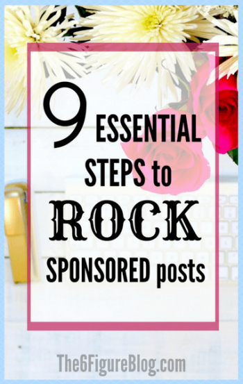 9 Essential Steps to ROCK Sponsored Posts