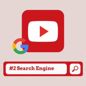 YouTube is the #2 search engine