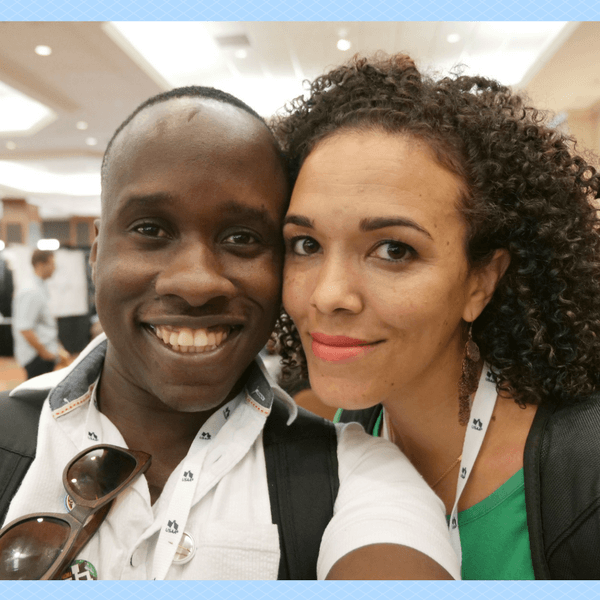 Serena and Leslie at FinCon 2017