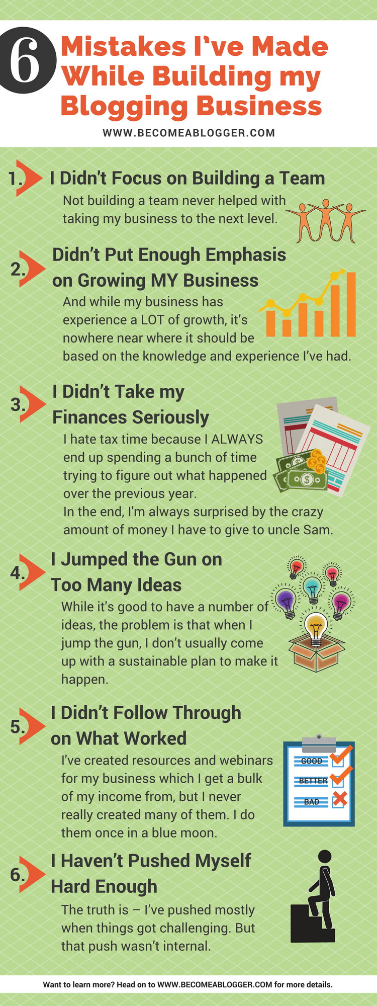 six big mistakes