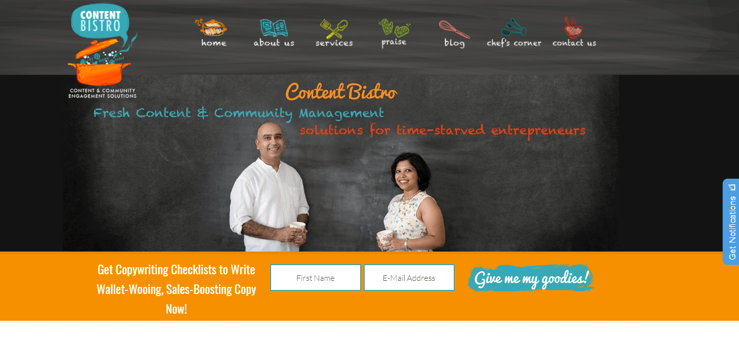Content Bistro - build a service-based business