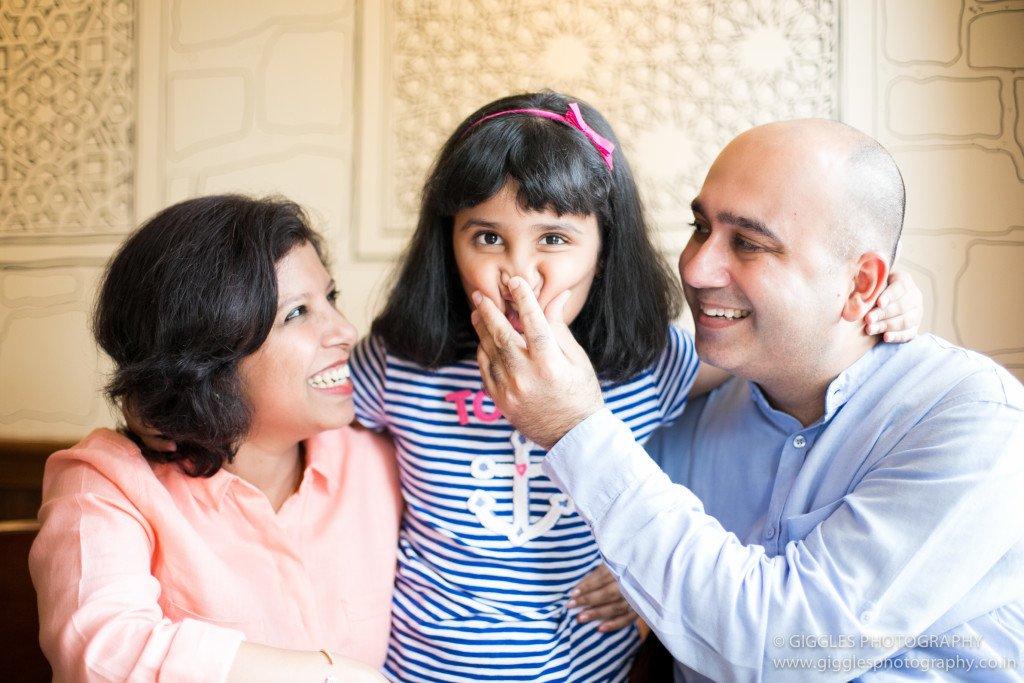 Prerna and family