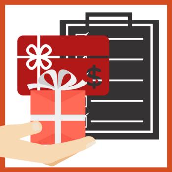 Reminder plus Gift Card