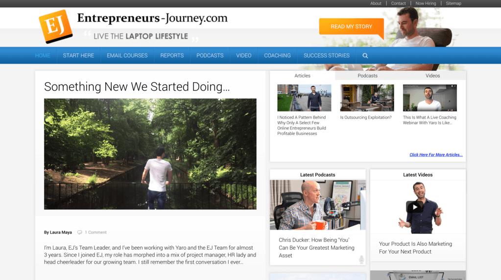 Yaro's blog - Entrepreneurs-Journey