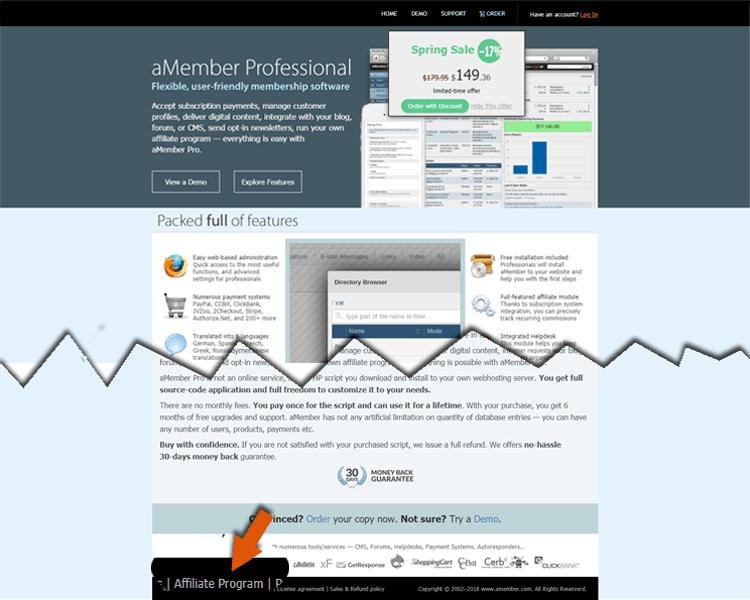 website affiliate