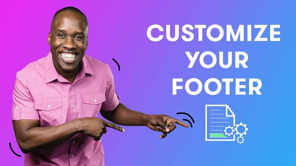 Customize Drip Email Footer