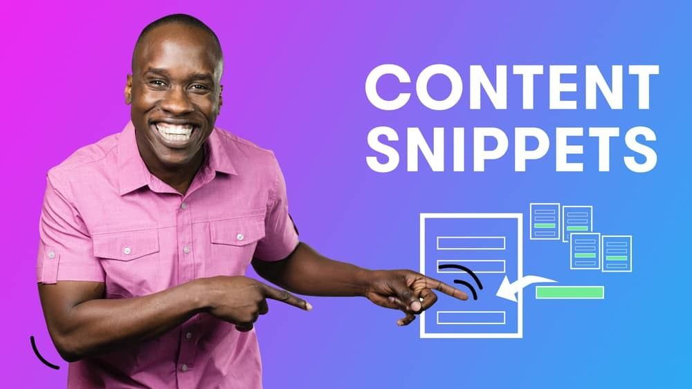 Drip Tutorial Content Snippets
