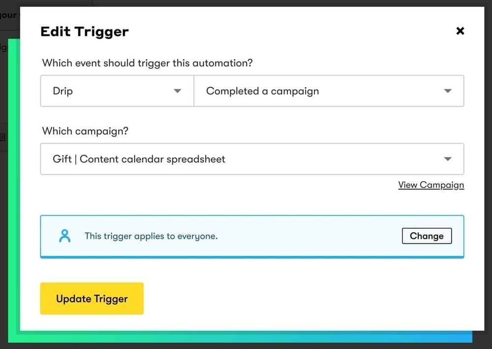 Add a Trigger for Your Automation Workflow