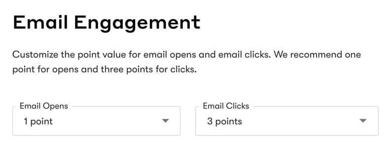 Drip Lead Score Email Engagement