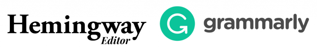 Grammarly and Hemingway App
