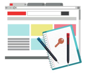 Plan blog content